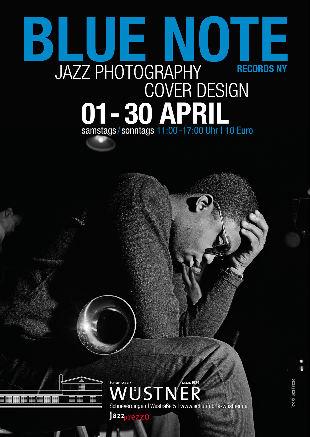 Ausstellungsplakat Blue Note Records NY